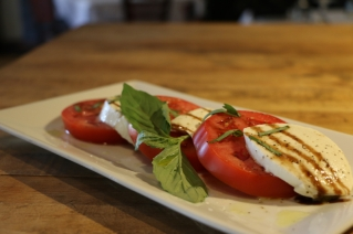 Caprese Salad at Vito's by the Park, 26 Trumbull Street, Hartford, CT 06103